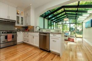 toronto solarium attached to kitchen